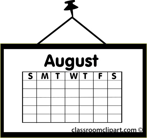 Free August Clip Art Pictures.