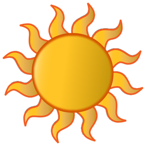 Summer clip art of june july and august graphics 3.