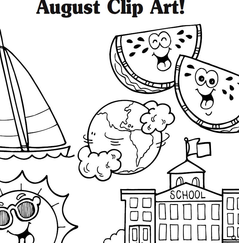 August clipart 14.