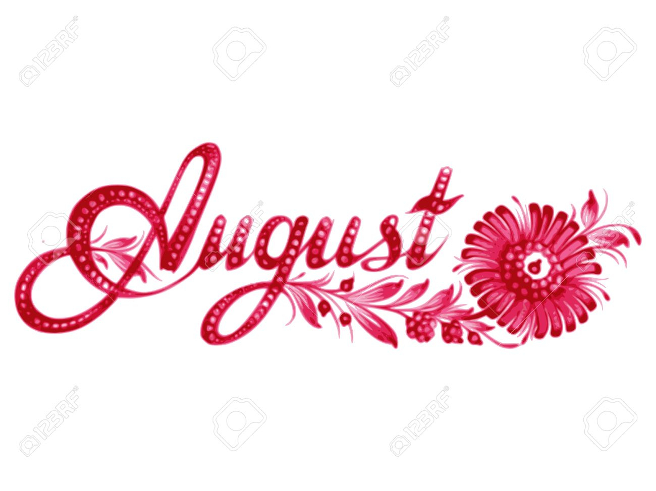 August Clipart to free.