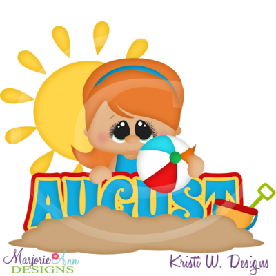 August clipart tiny.