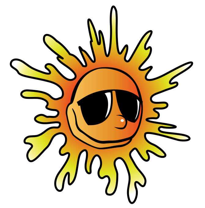 Clipart sunshine august, Clipart sunshine august Transparent.