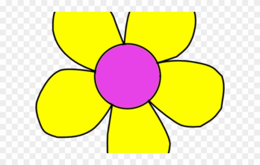 Yellow Flower Clipart August Flower.