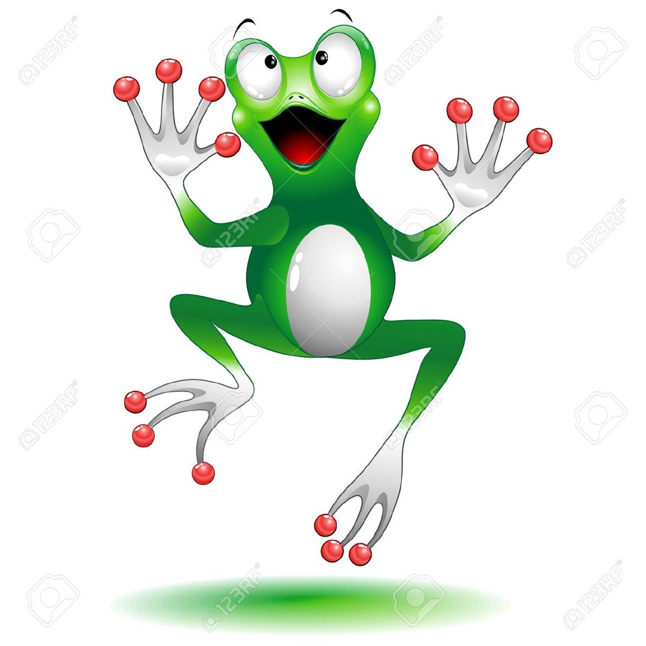 Frog Jump images.