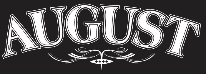 August Logo by Nigel Barnes at Coroflot.com.