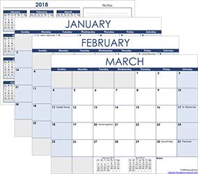Free Calendars and Calendar Templates.