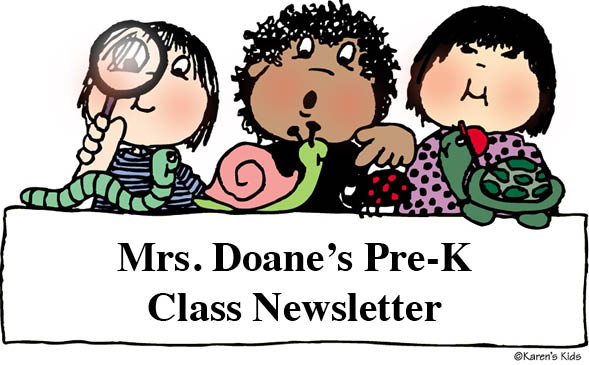 Preschool Newsletters.