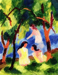 Landscapes, Expressionism and August macke on Pinterest.