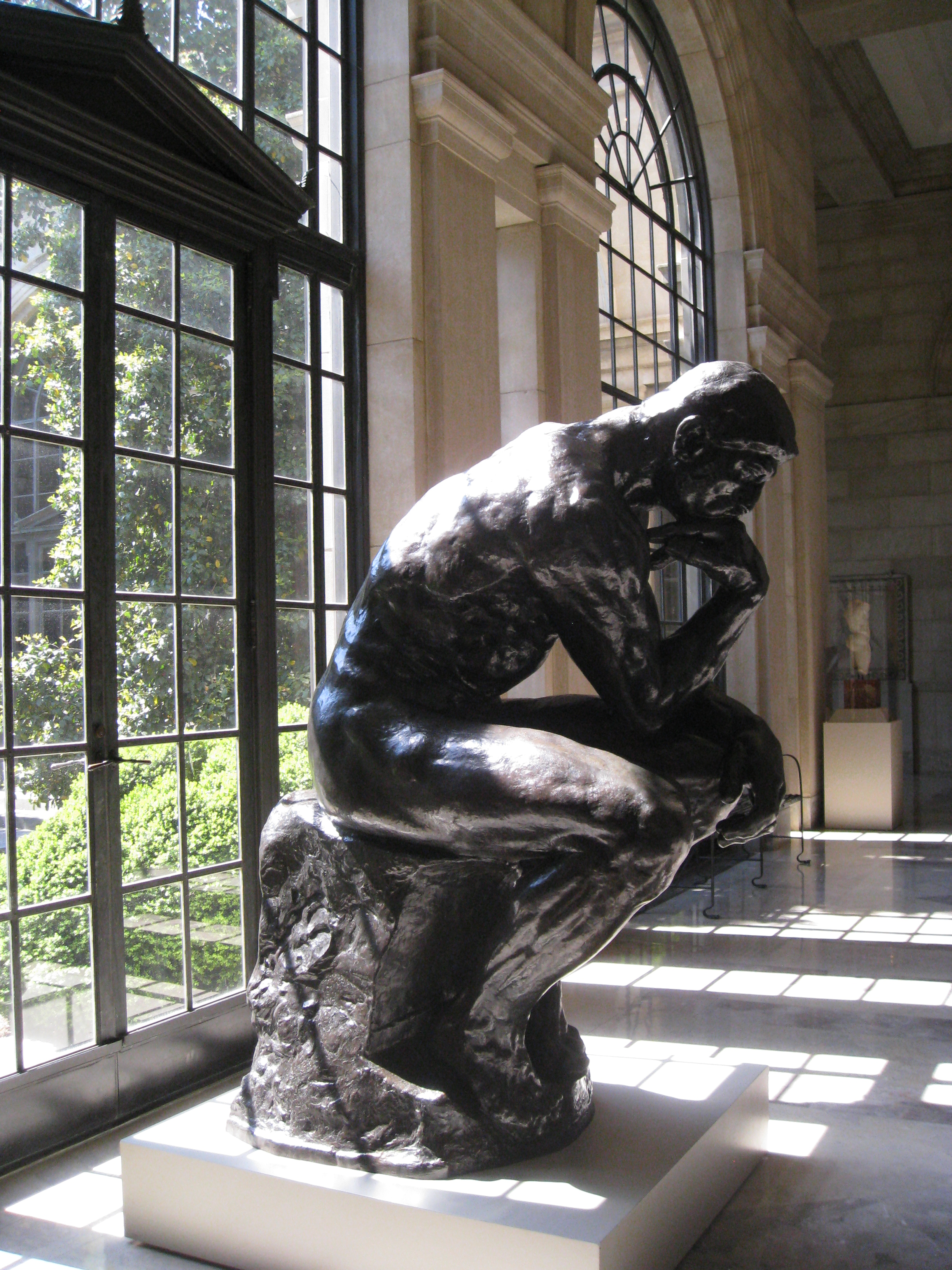 The Thinker by Auguste Rodin, 1904.
