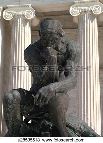 Auguste rodin sculpture thinker Stock Photo Images. 57 auguste.