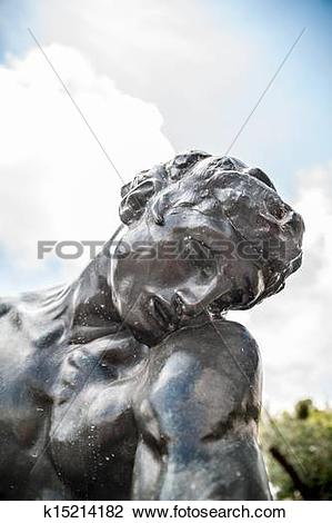 Stock Photo of L'ombre by Auguste Rodin k15214182.