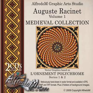 Medieval Ornament Auguste Racinet.