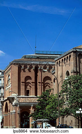 Stock Photo of musee des augustins museum in former augustinian.