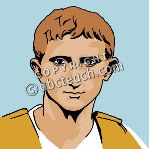 Augustus caesar clipart.