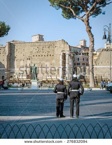 Via Dei Fori Imperiali Stock Photos, Royalty.