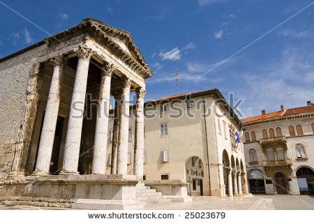 Emperor Augustus Stock Photos, Royalty.