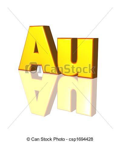 Stock Illustration of au.