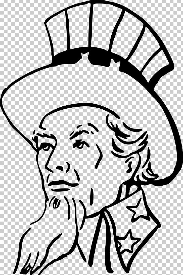 Uncle Sam PNG, Clipart, Artwork, Aunt, Black, Black And.