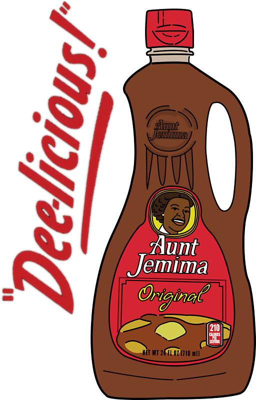 Aunt Jemima: Stickers.