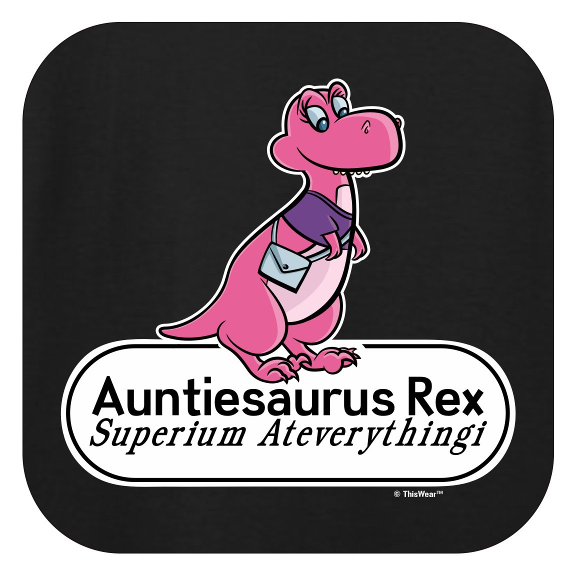 Amazon.com: ThisWear Gifts for Aunt Auntiesaurus Rex.