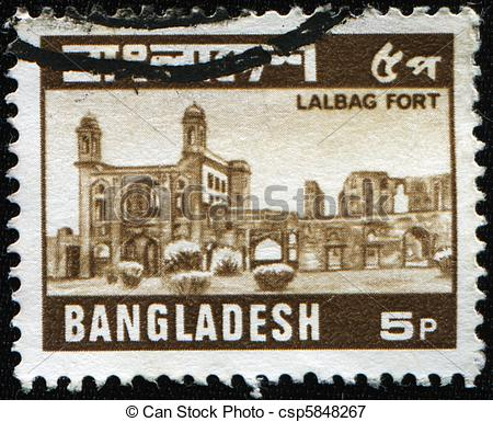 "Picture of Lalbagh Fort also known as ""Fort Aurangabad""."