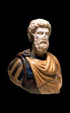 Bust of a Roman Emperor Septimus Severus (Ref No. 7140).