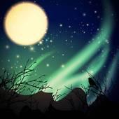 Aurora borealis clipart 5 » Clipart Portal.