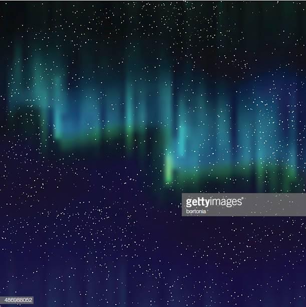 60 Top Aurora Borealis Stock Illustrations, Clip art, Cartoons.