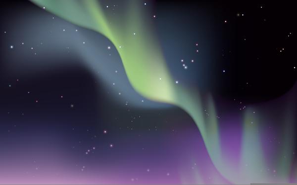 Clipart Aurora Borealis.