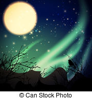 Northern lights Clip Art and Stock Illustrations. 1,486 Northern.