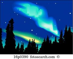 Aurora borealis Clipart Royalty Free. 611 aurora borealis clip art.