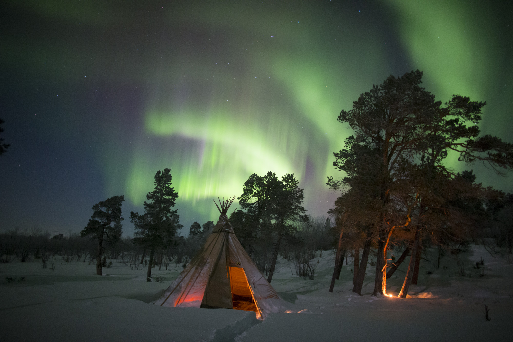 Northern lights photography tour.