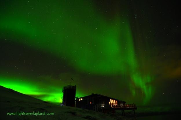 CME impact generates wonderful auroras.