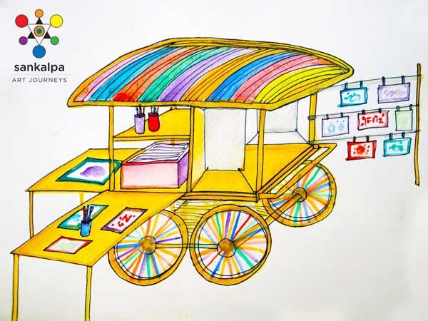 Sankalpa Art Cart Launch.