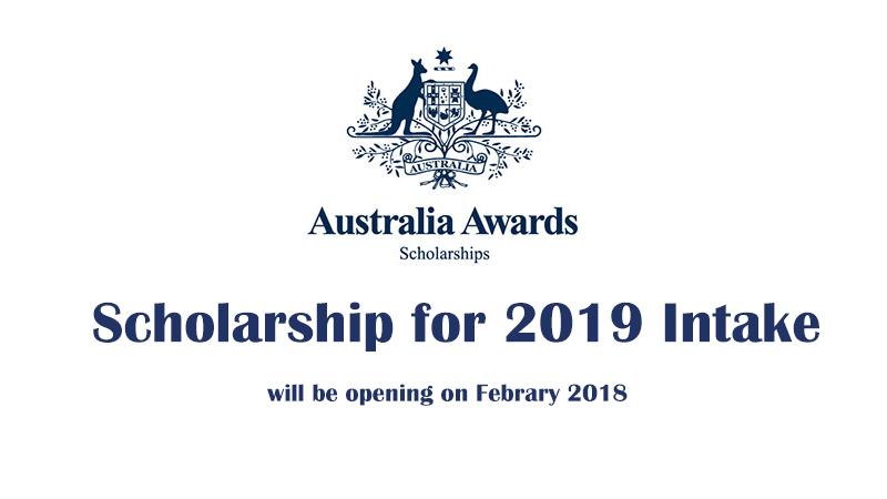 Australia Awards Intake 2019 Brochure is Online Now!!.