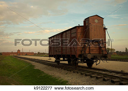 Picture of Auschwitz.