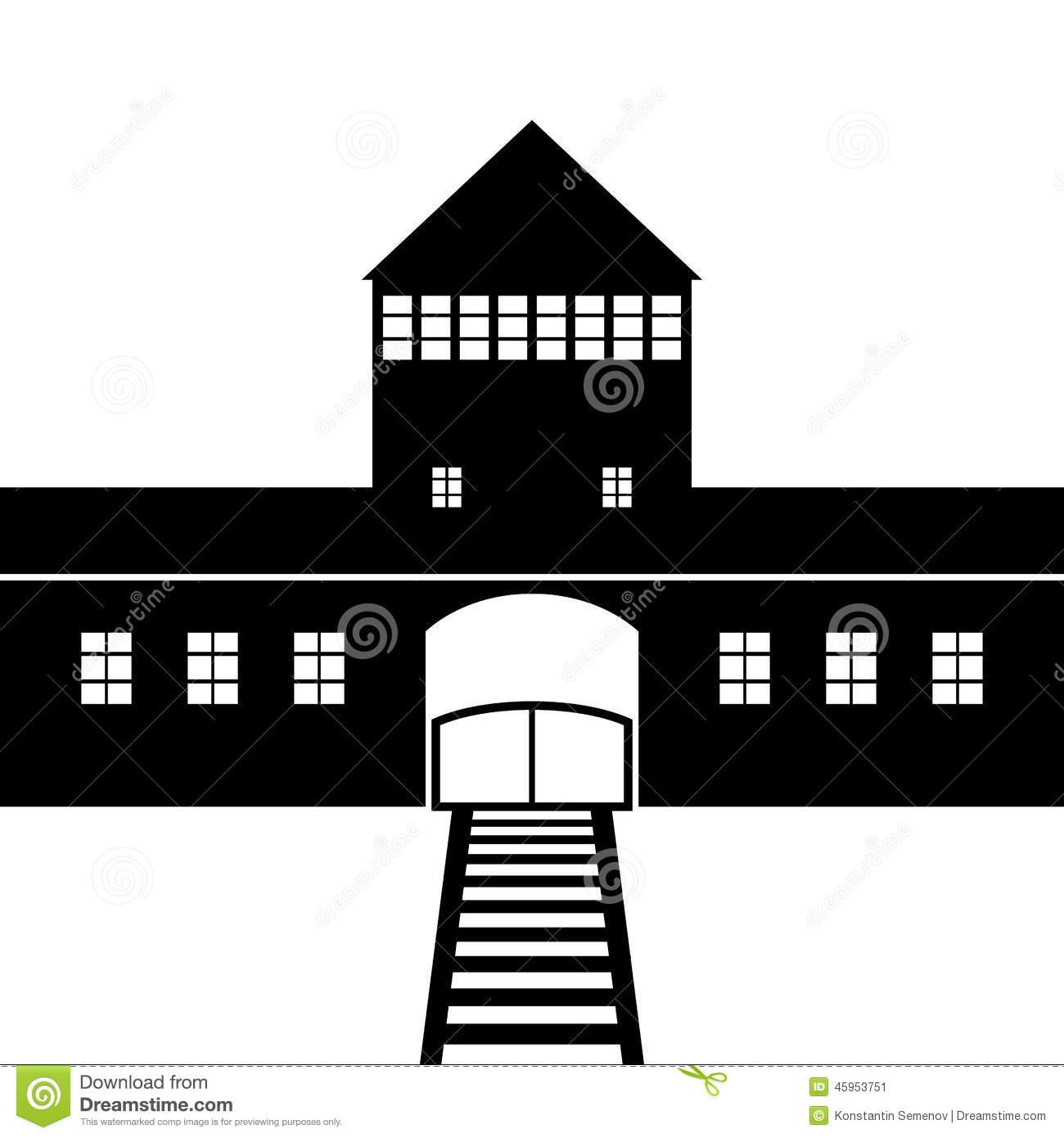 Auschwitz Stock Illustrations.