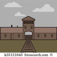 Auschwitz Clipart EPS Images. 49 auschwitz clip art vector.