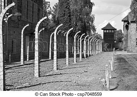 Stock Photographs of Auschwitz Birkenau concentration camp.