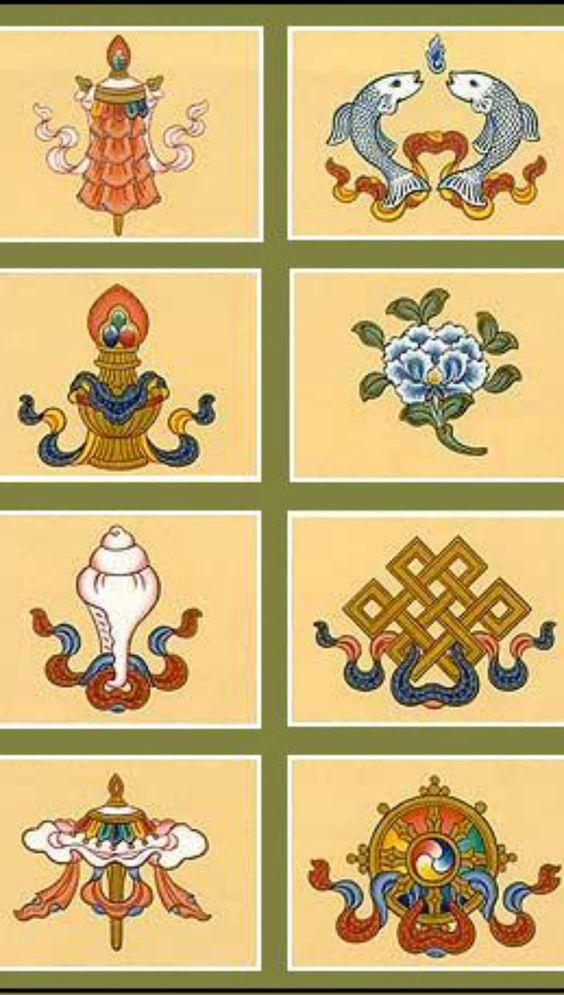 The Ashtamangala.