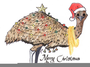 Australian Clipart Christmas.