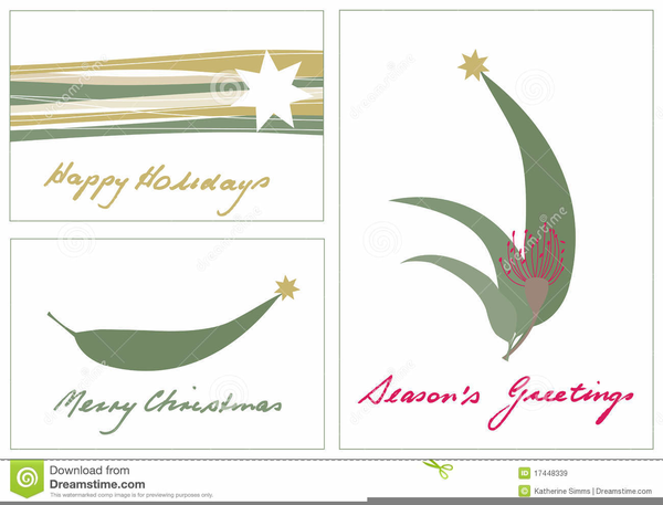 Free Australian Christmas Clipart Images.