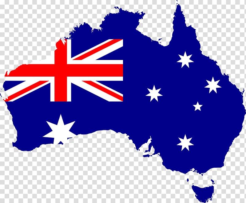 Flag of Australia and map, Australia, Australia Flag File.