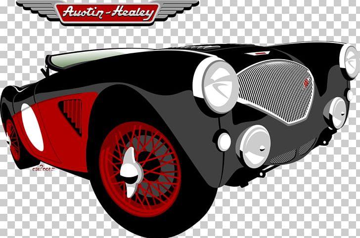 Antique Car Austin.