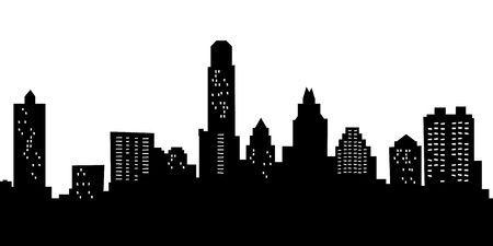 Austin skyline clipart 1 » Clipart Portal.