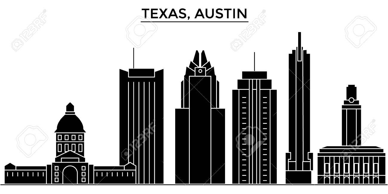Texas Austin architecture city skyline.