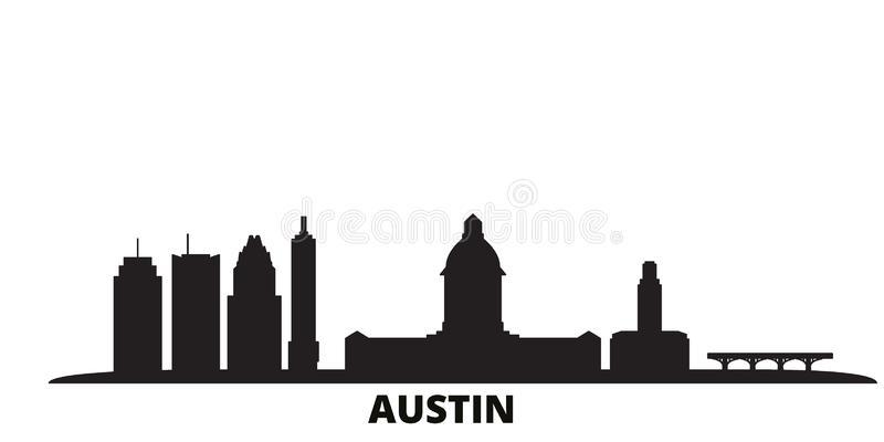 Austin Vector Stock Illustrations.