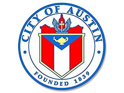 Amazon.com: ROUND City of Austin Texas Seal (tx limits logo.