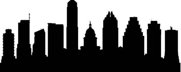 Best Austin Tx Skyline Illustrations, Royalty.