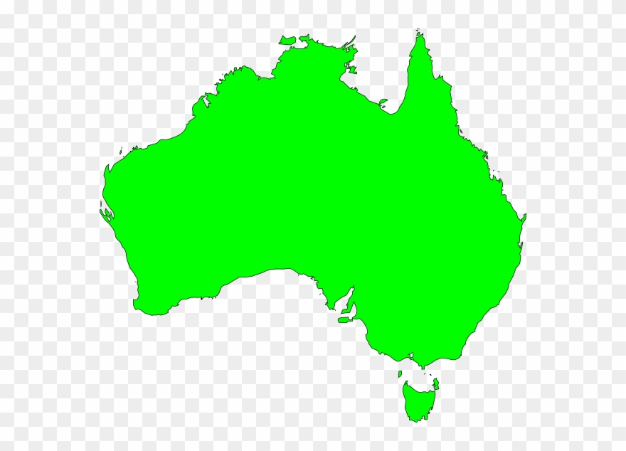 Australia Map Vector Ai Clipart (#19996).